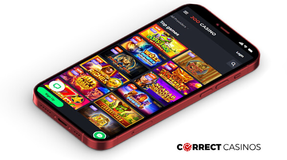 Joo Casino - Mobile Version