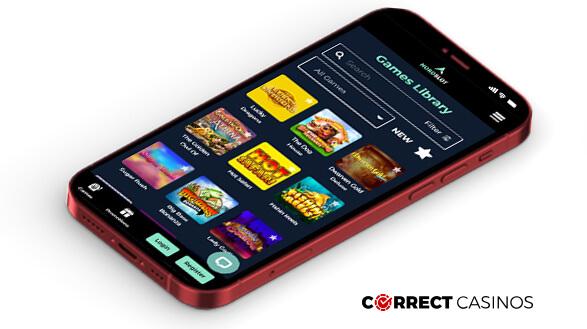 NordSlot Casino - Mobile Version