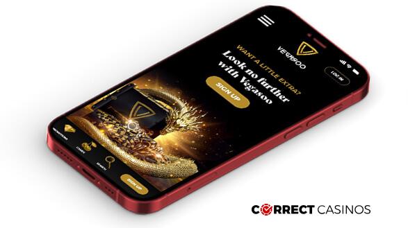 Vegasoo Casino - Mobile Version