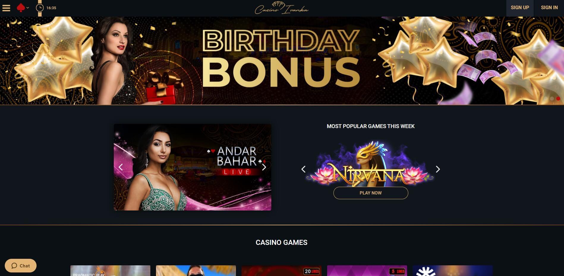 casinoivanka.com - Website Review
