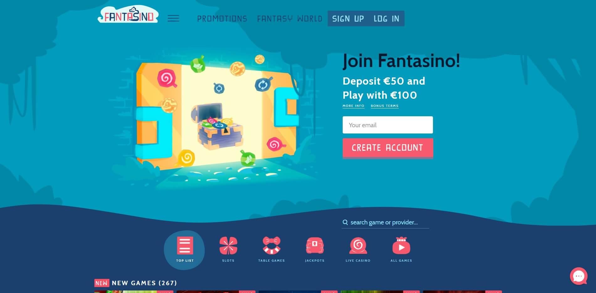 fantasino.com - Website Review