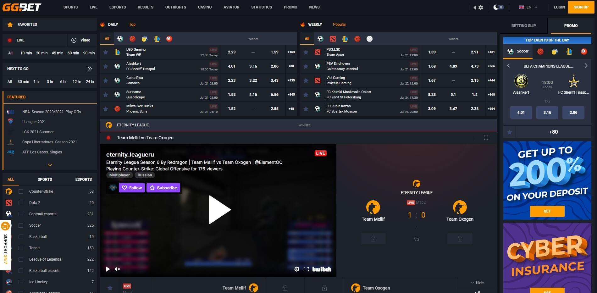 gg.bet - Website Review