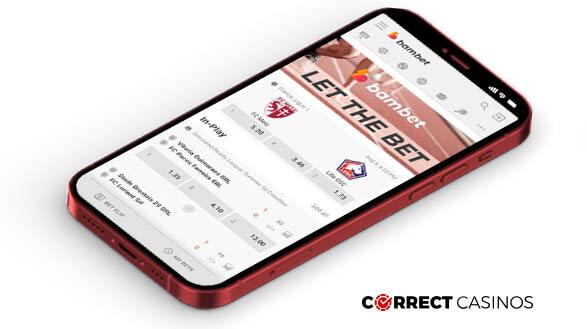 Bambet Casino - Mobile Version