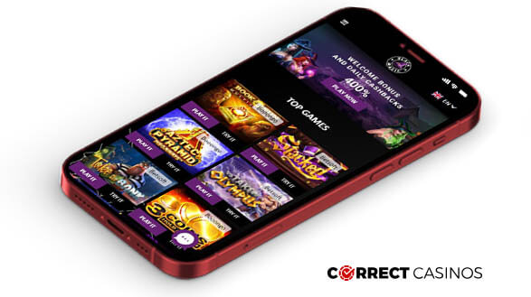 Black Magic Casino - Mobile Version