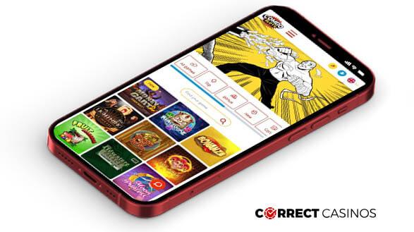 ComboSlots Casino - Mobile Version
