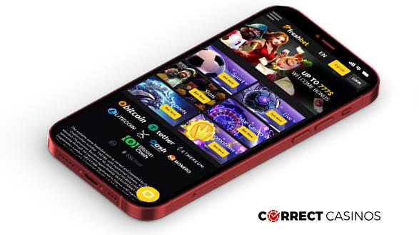 FreshBet Casino - Mobile Version