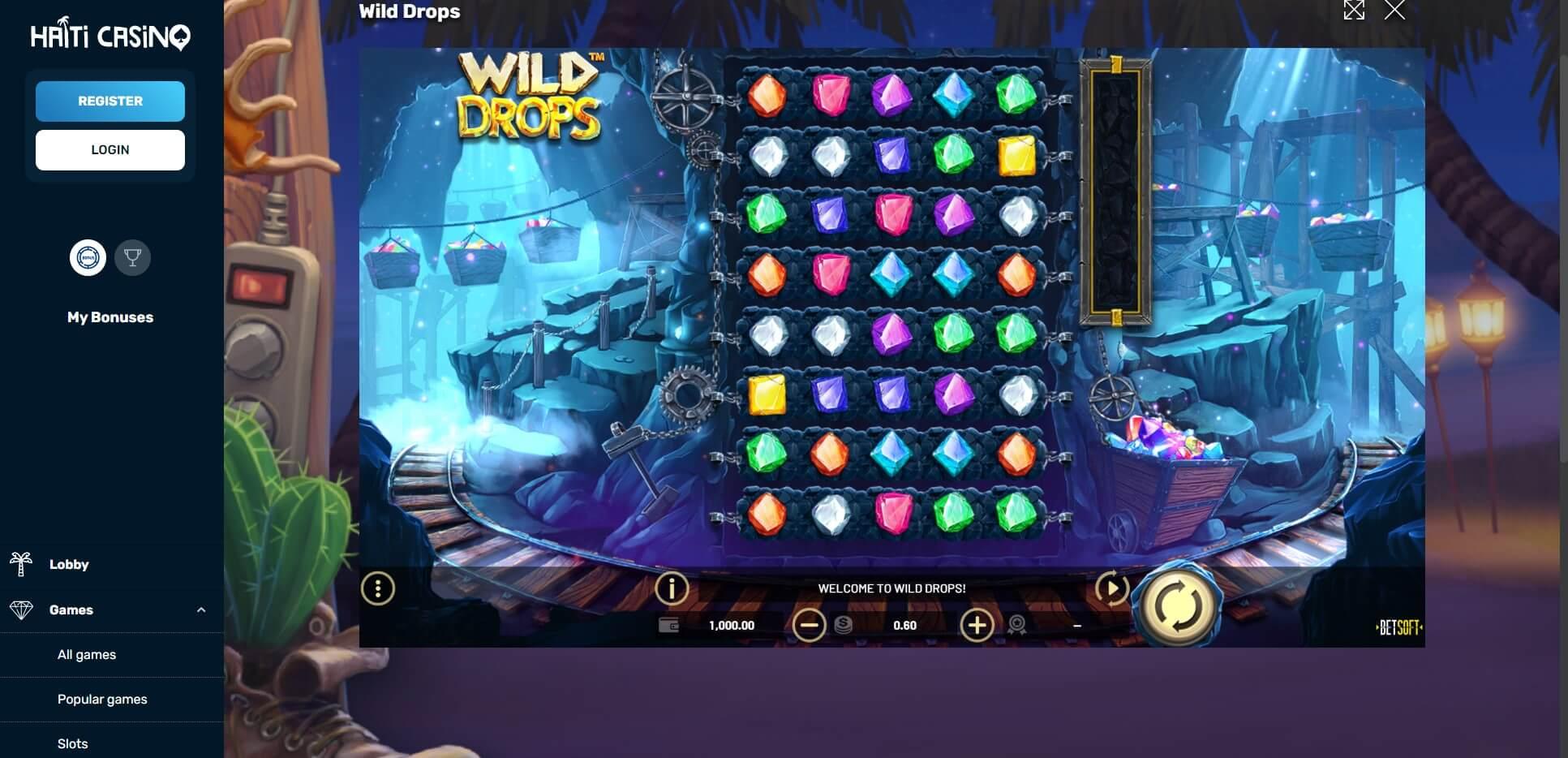 Game Play at Haiti Casino