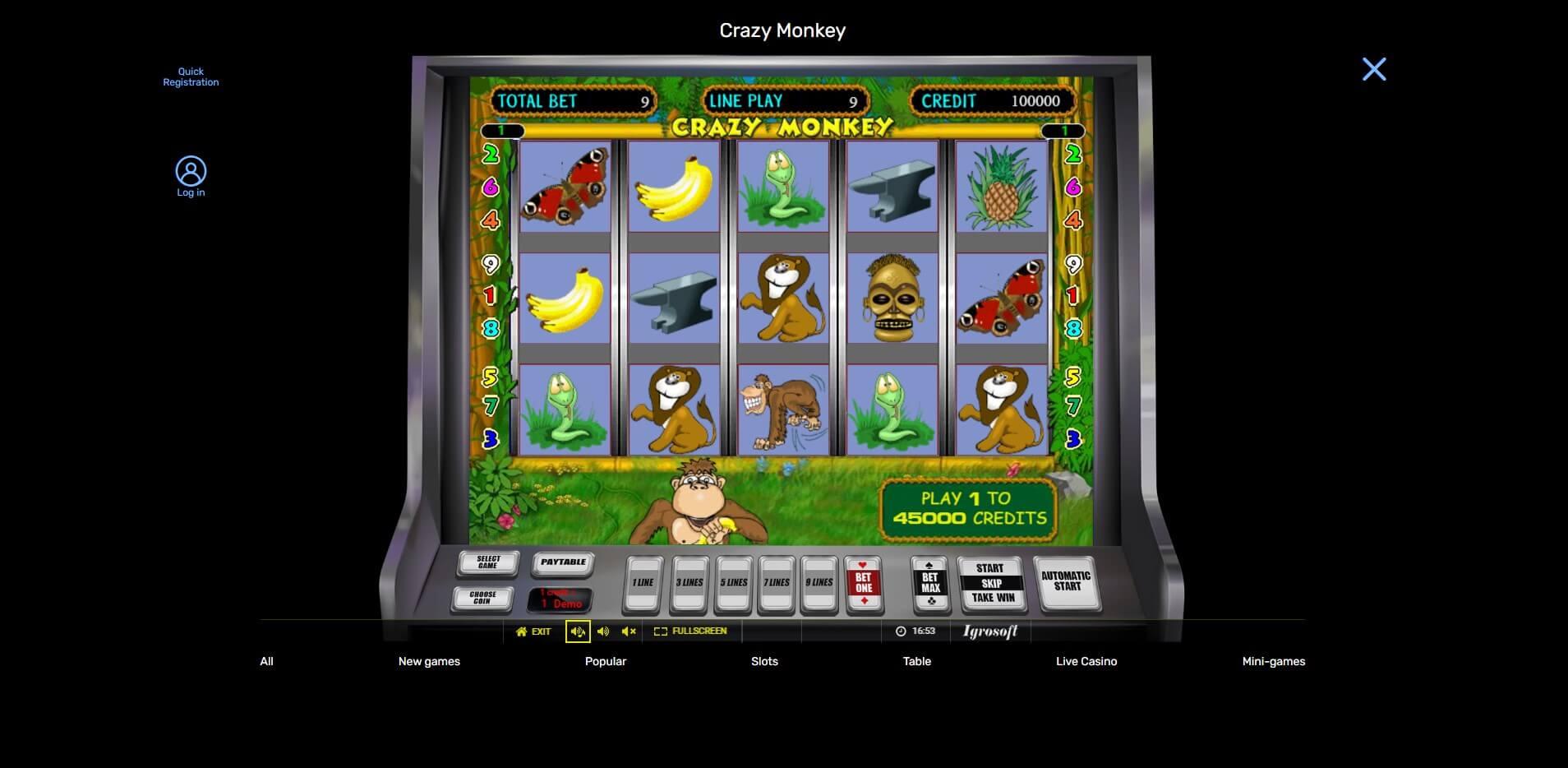 Game Play at Libra Spins Casino
