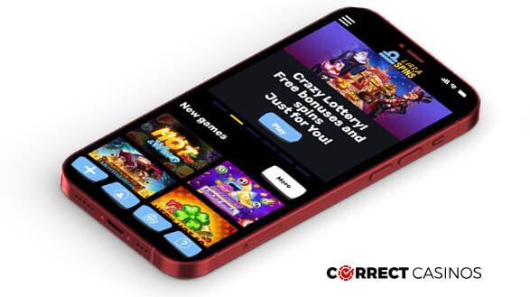 Libra Spins Casino - Mobile Version