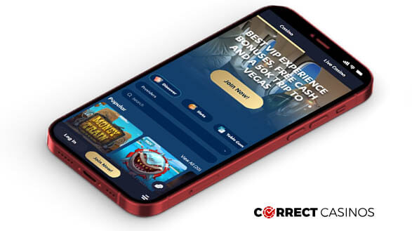 Lucky Dreams Casino - Mobile Version