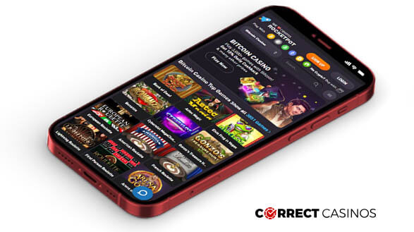 Rocketpot Casino - Mobile Version