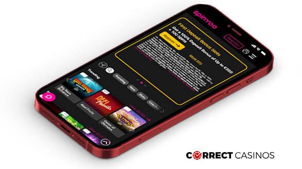Spinyoo Casino - Mobile Version