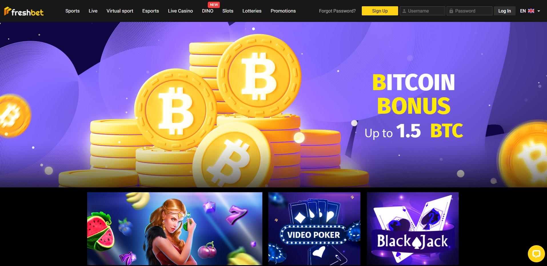 fresh-bet.com - Website Review