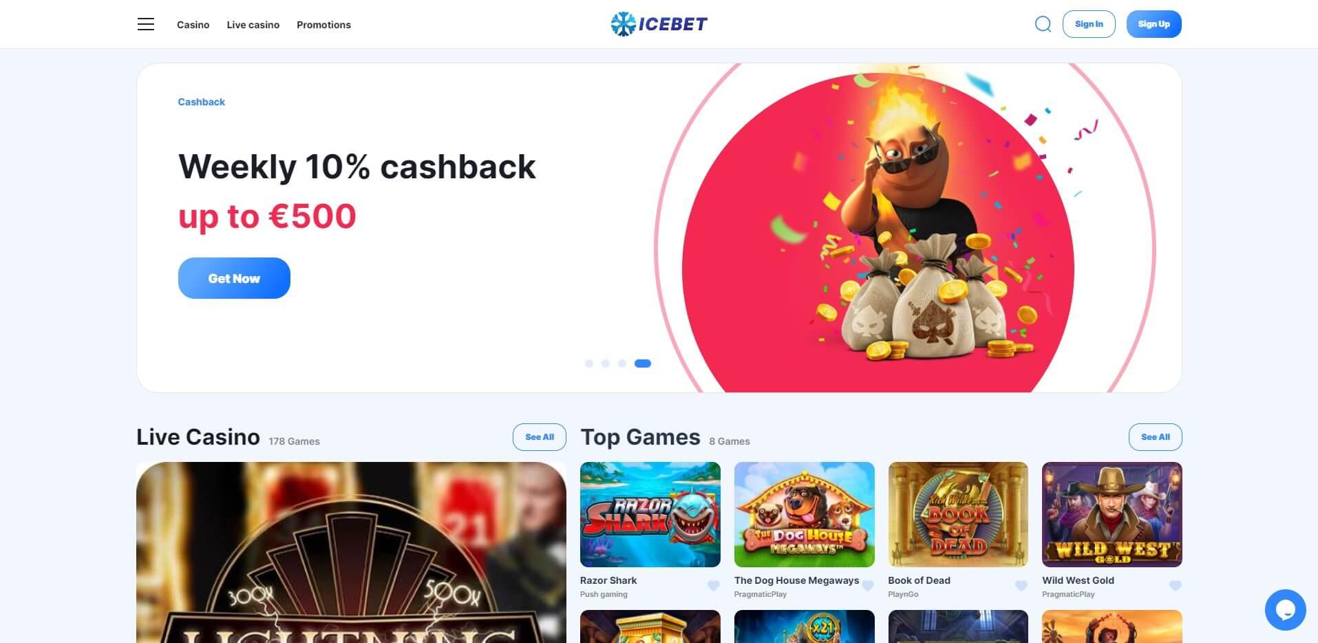 icebet.casino - Website Review