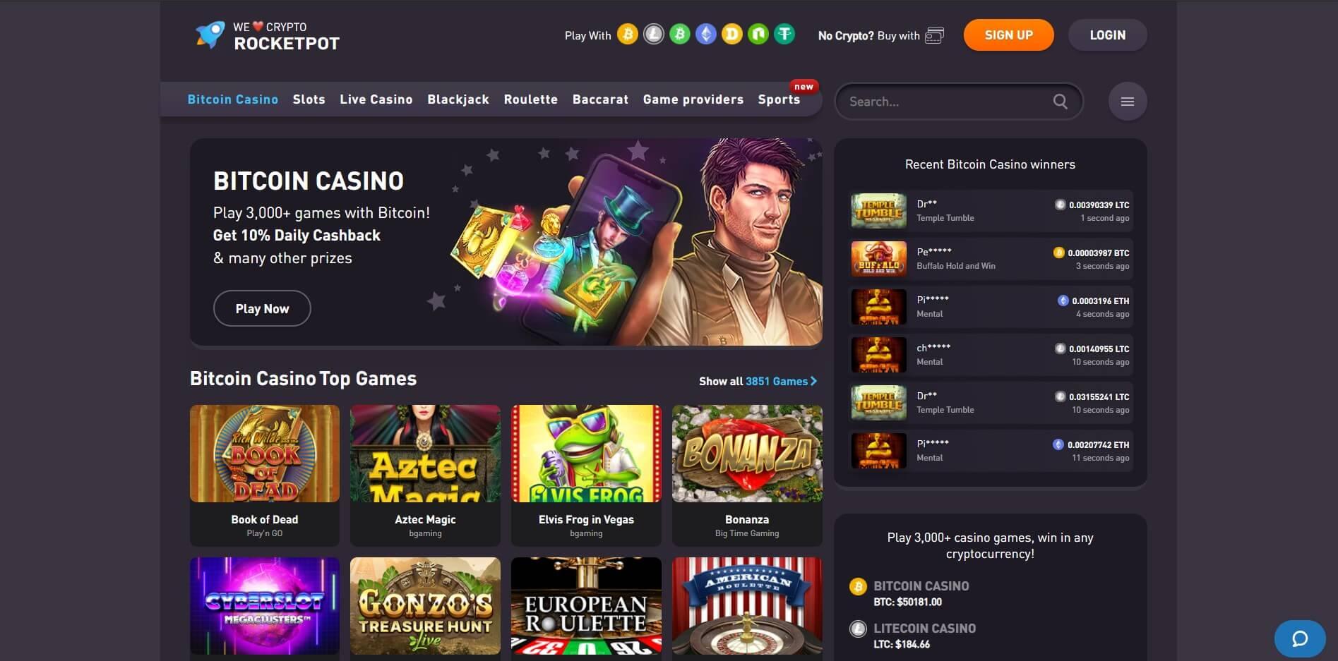 rocketpot.io - Website Review