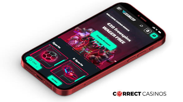 Casinozer Casino - Mobile Version