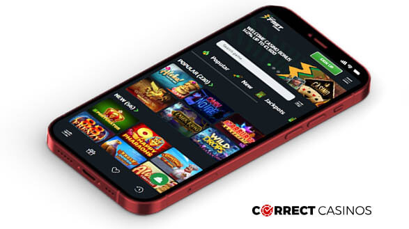 Playfast Casino - Mobile Version