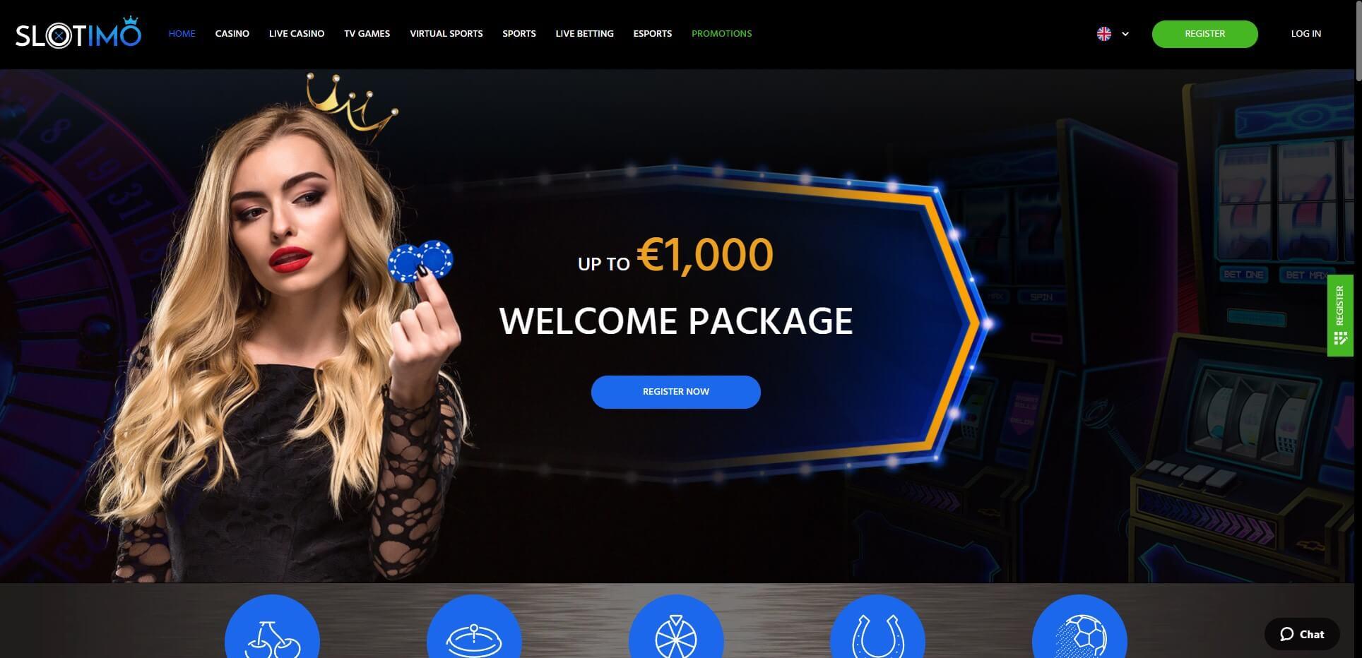 Slotimo.com - Website Review